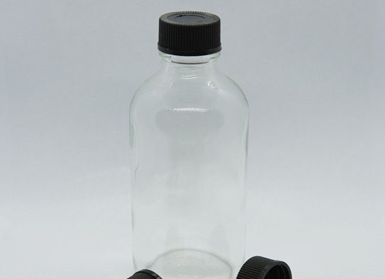 2oz 60ml Boston Bottle With 20-400 Screw Cap