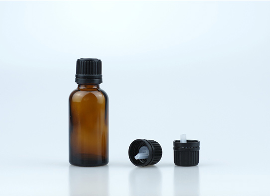 18-415 Popular Small Head Tamper Evident Cap with Short Dropper Plug for Essential Oil