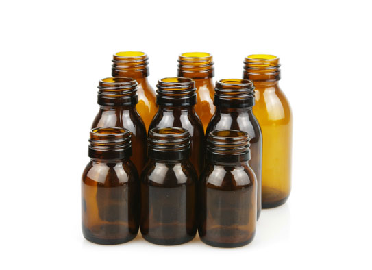 Amber Glass Syrup Bottles Wholesale