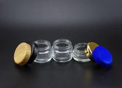 Glass Child Proof Jar for CBD